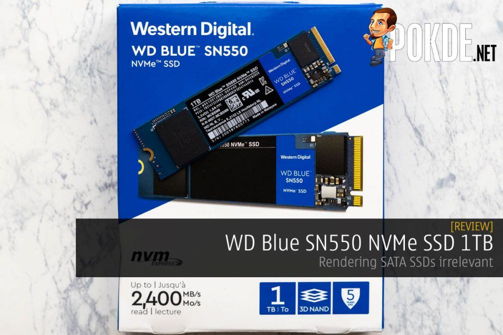 WD Blue SN550 NVMe SSD 1TB Review — rendering SATA SSDs irrelevant 20