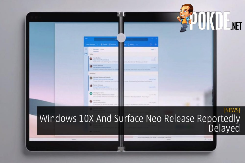Windows 10X And Surface Neo Release Reportedly Delayed 21
