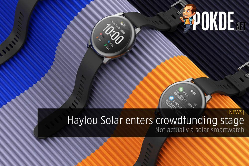 Haylou Solar enters crowdfunding stage — not actually a solar smartwatch 22