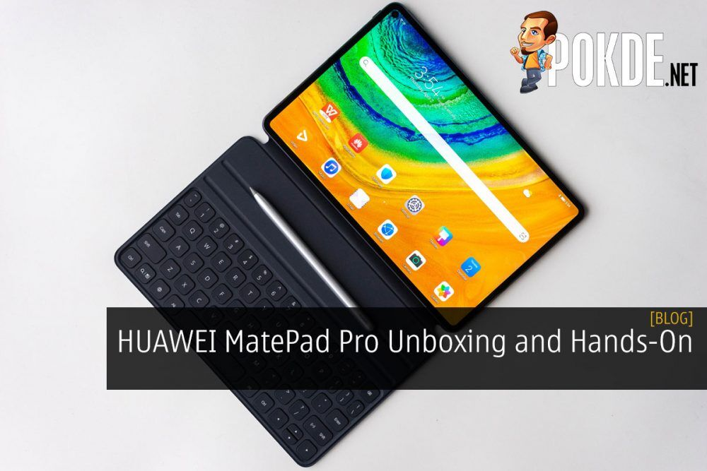HUAWEI MatePad Pro Unboxing and Hands-On 20