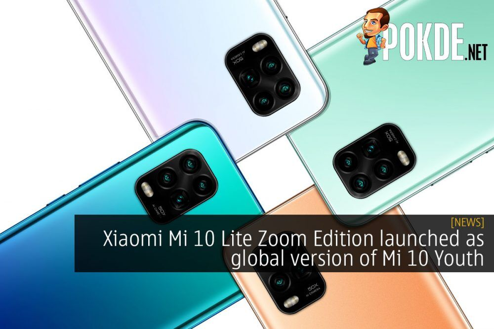 Xiaomi Mi 10 Lite Zoom Edition launched as global version of Mi 10 Youth 22