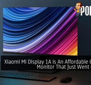 Xiaomi Mi Display 1A is An Affordable Gaming Monitor That Just Went on Sale
