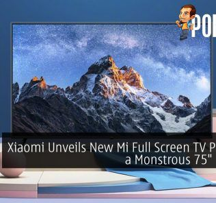 """Xiaomi Unveils New Mi Full Screen TV Pro with a Monstrous 75"""" Display"""