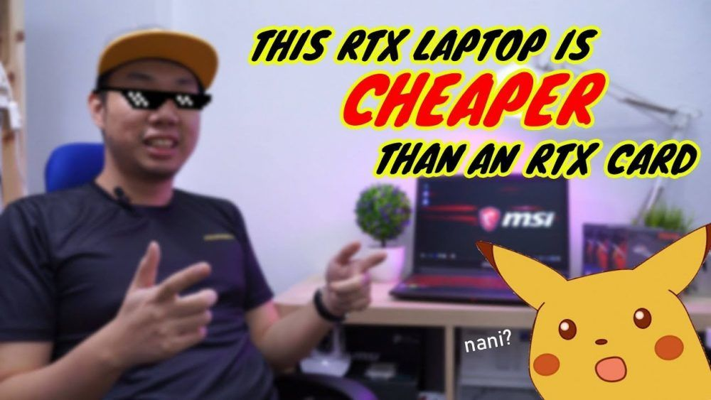 This GL63 RTX Laptop is CHEAPER than an RTX Card!!! 21