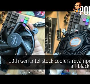 10th Gen Intel stock cooler cover