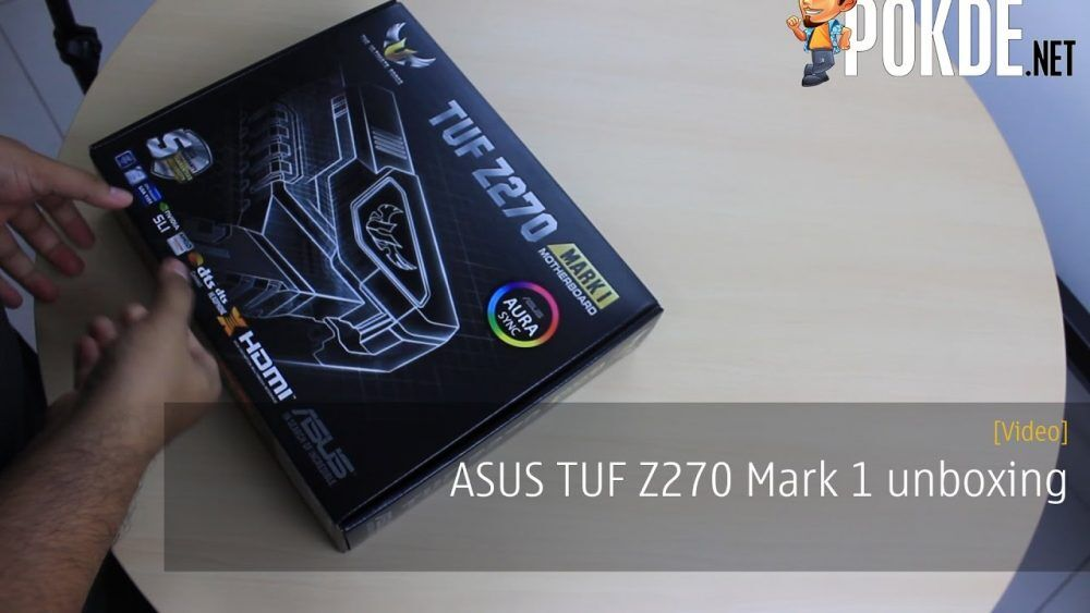 ASUS TUF Z270 Mark 1 quick unboxing 23