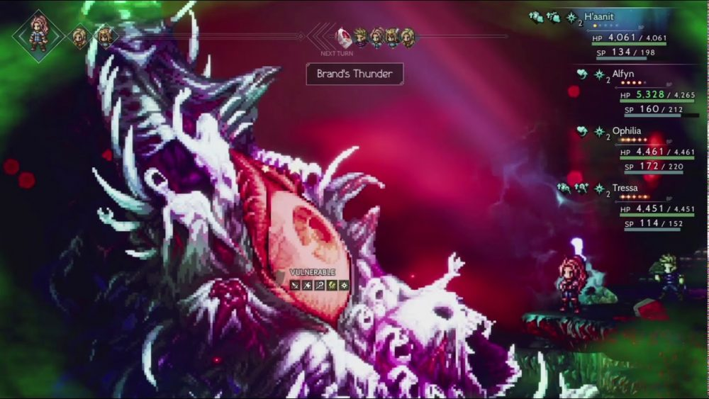 Octopath Traveler Galdera True Final Boss Battle COMPLETE | Pokde.net 22