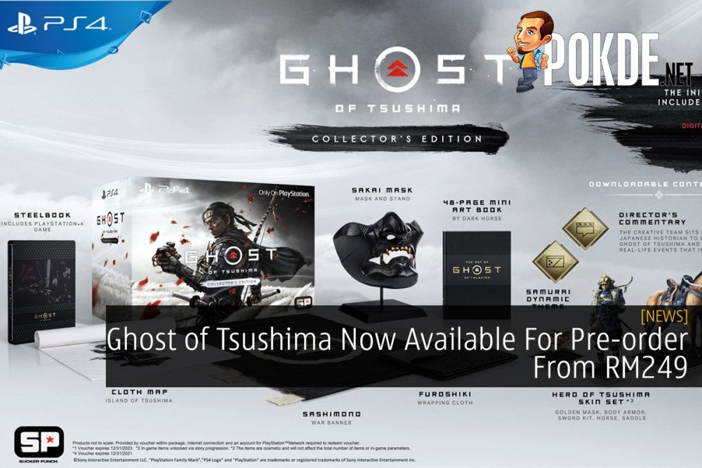 Ghost of Tsushima Now Available For Pre-order From RM249 18
