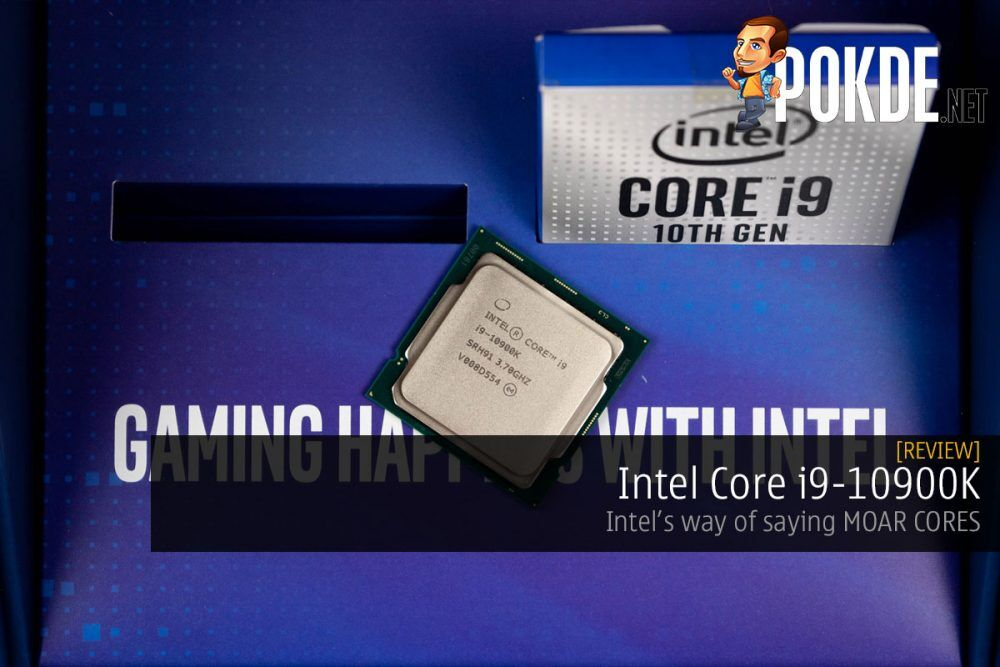Intel Core i9-10900K Review — Intel's way of saying MOAR CORES 26