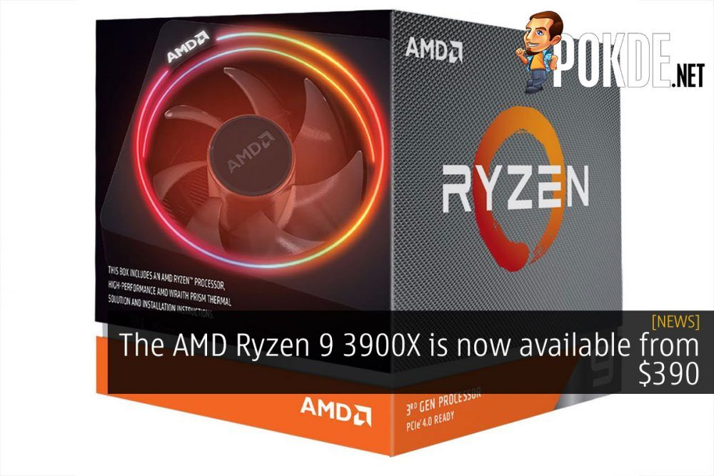 amd ryzen 9 3900x 390 dollar