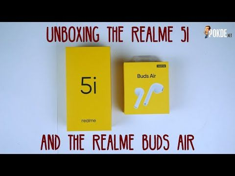 realme 5i and realme Buds Air 2 Unboxing 21