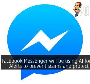 facebook messenger safety alert ai scam minor cover