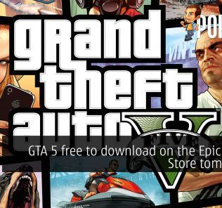 gta 5 free epic games store cover