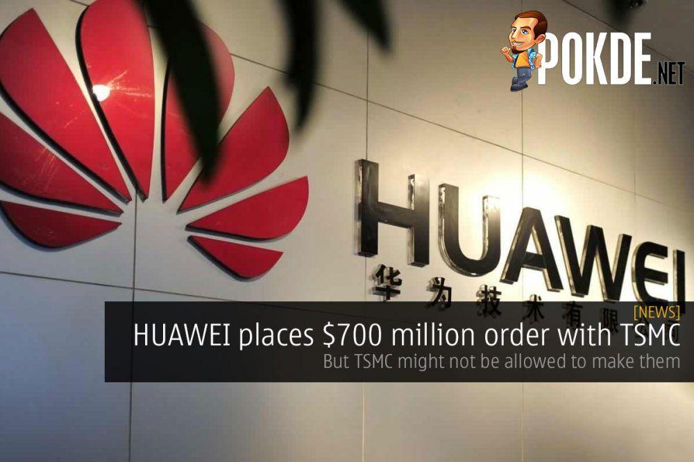 huawei tsmc 700 million cover