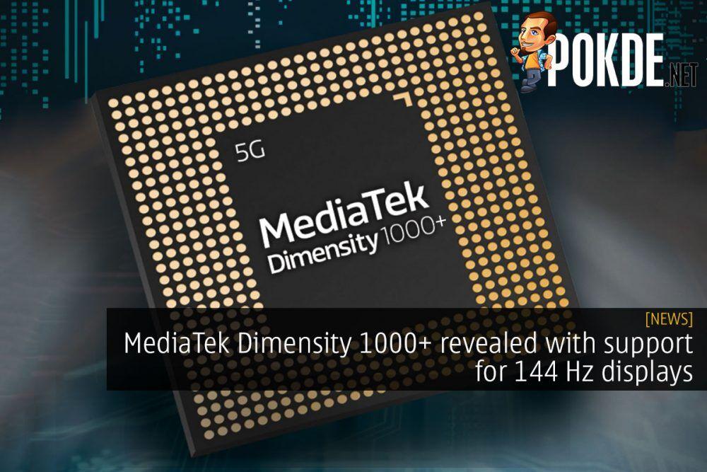 mediatek dimensity 1000+ 144 hz cover