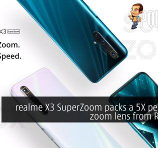 realme X3 SuperZoom periscope camera rm1999 cover