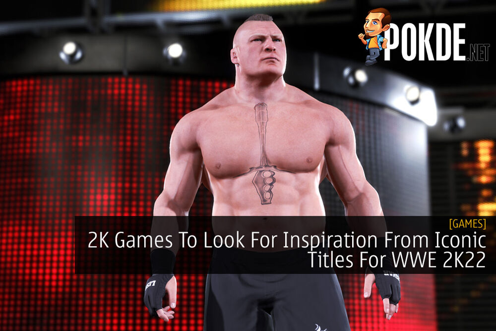 2K Games To Look For Inspiration From Iconic Titles For WWE 2K22 23