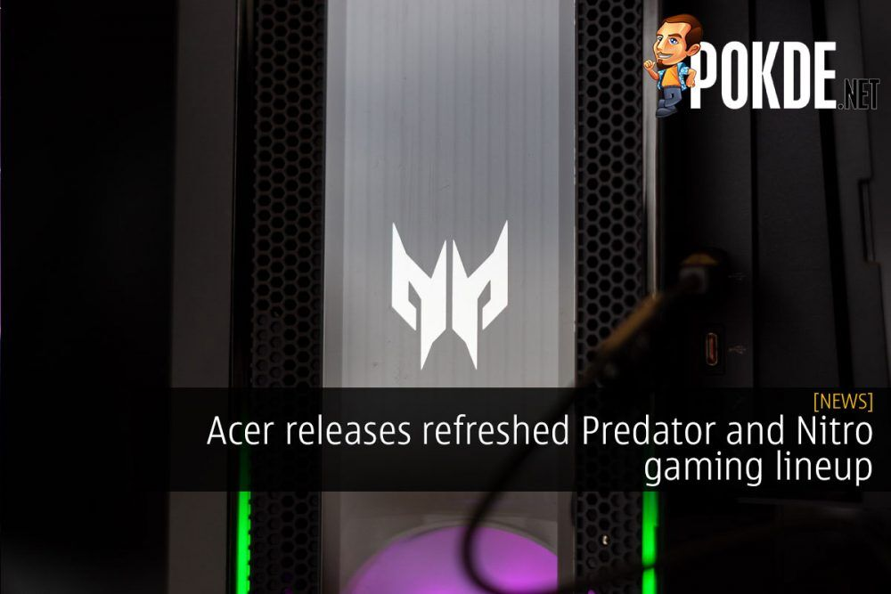 Acer refreshed Predator and Nitro gaming lineup cover