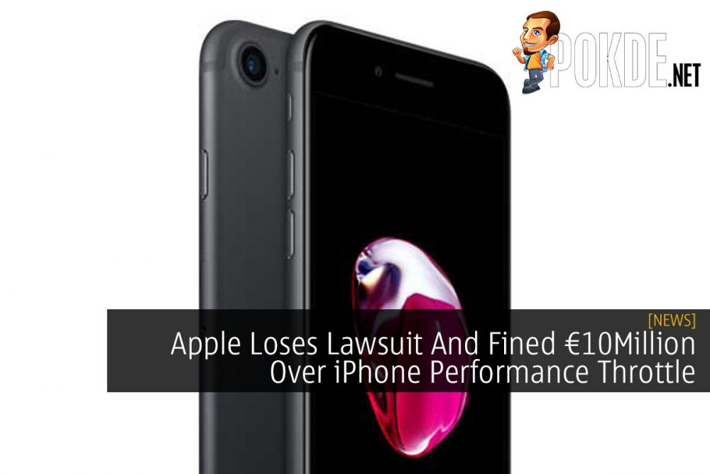 Apple Loses Lawsuit And Fined €10Million Over iPhone Performance Throttle 21