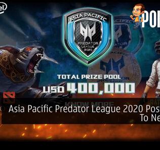 Asia Pacific Predator League 2020 Postponed To Next Year 23