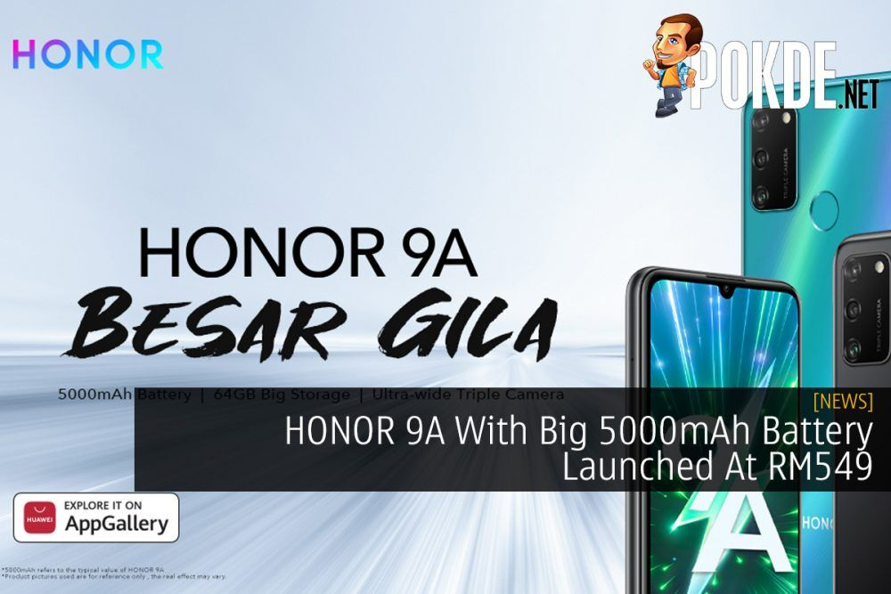 HONOR 9A With Big 5000mAh Battery Launched At RM549 18