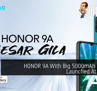 HONOR 9A With Big 5000mAh Battery Launched At RM549 26