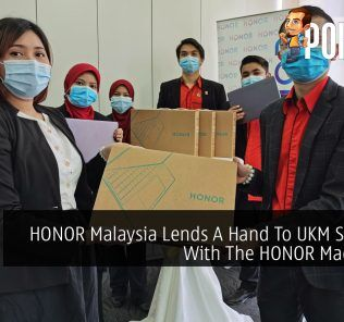 HONOR Malaysia Lends A Hand To UKM Students With The HONOR MagicBook 24