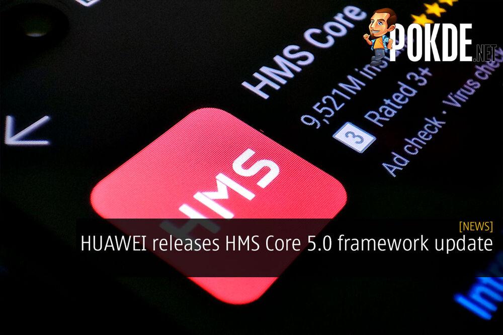 HUAWEI HMS Core 5.0 update cover