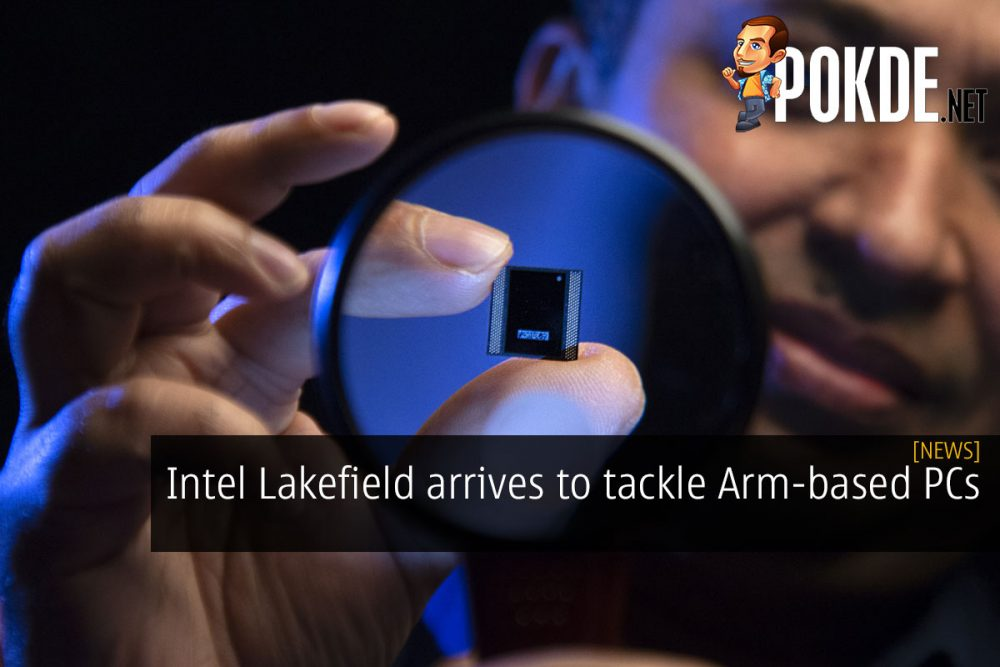 Intel Lakefield arm based PCs cover