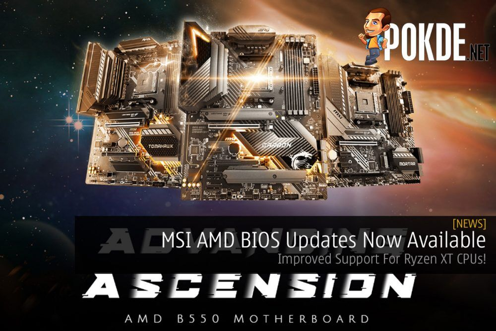 MSI AMD BIOS Updates Now Available — Improved Support For Ryzen XT CPUs! 21