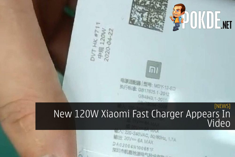 New 120W Xiaomi Fast Charger Appears In Video 21