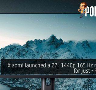 Xiaomi 27 1440p 165 hz monitor rm1328 cover