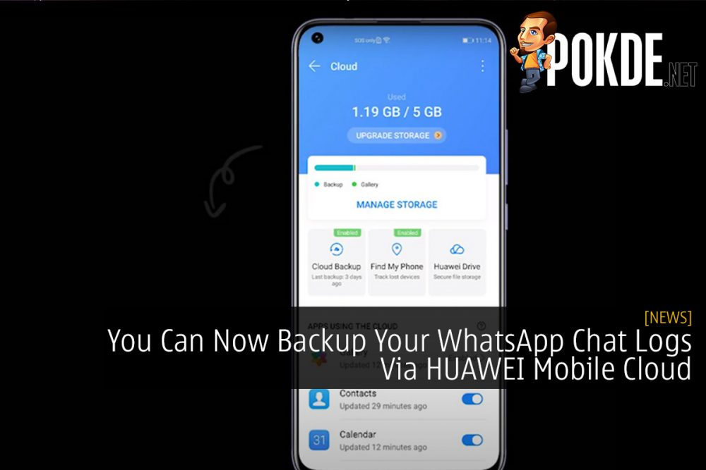 You Can Now Backup Your WhatsApp Chat Logs Via HUAWEI Mobile Cloud 26