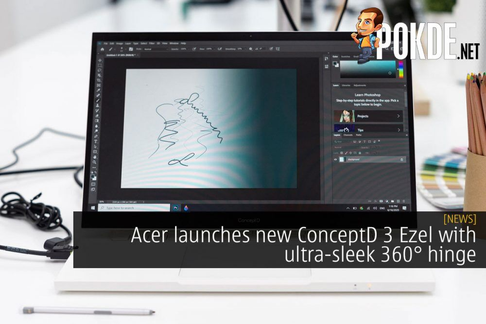 Acer launches new ConceptD 3 Ezel with ultra-sleek 360° hinge 24