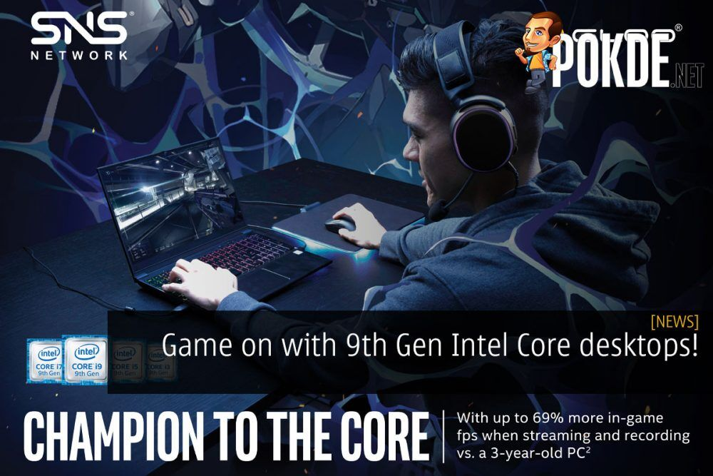 game on with 9th gen intel core desktops champion to the core gloo cover