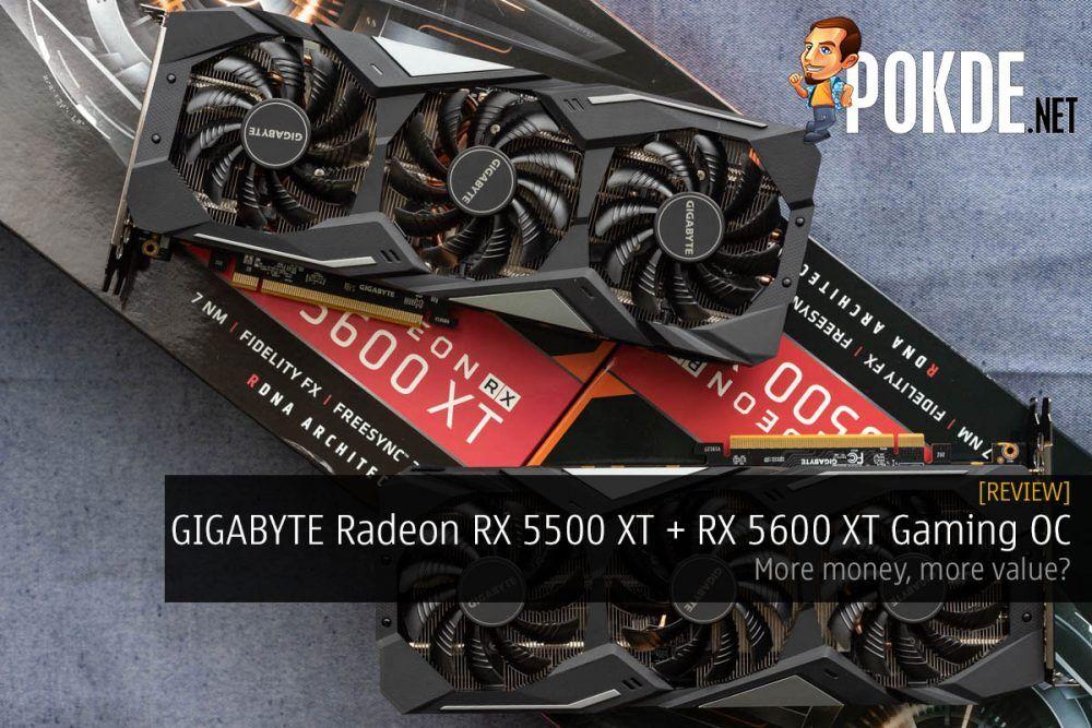 gigabyte radeon rx 5500 xt rx 5600 xt gaming oc review cover