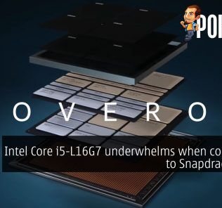 Intel Core i5-L16G7 underwhelms when compared to Snapdragon 8cx 21