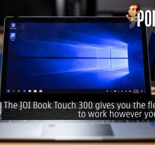 The JOI Book Touch 300 gives you the flexibility to work however you want! 26