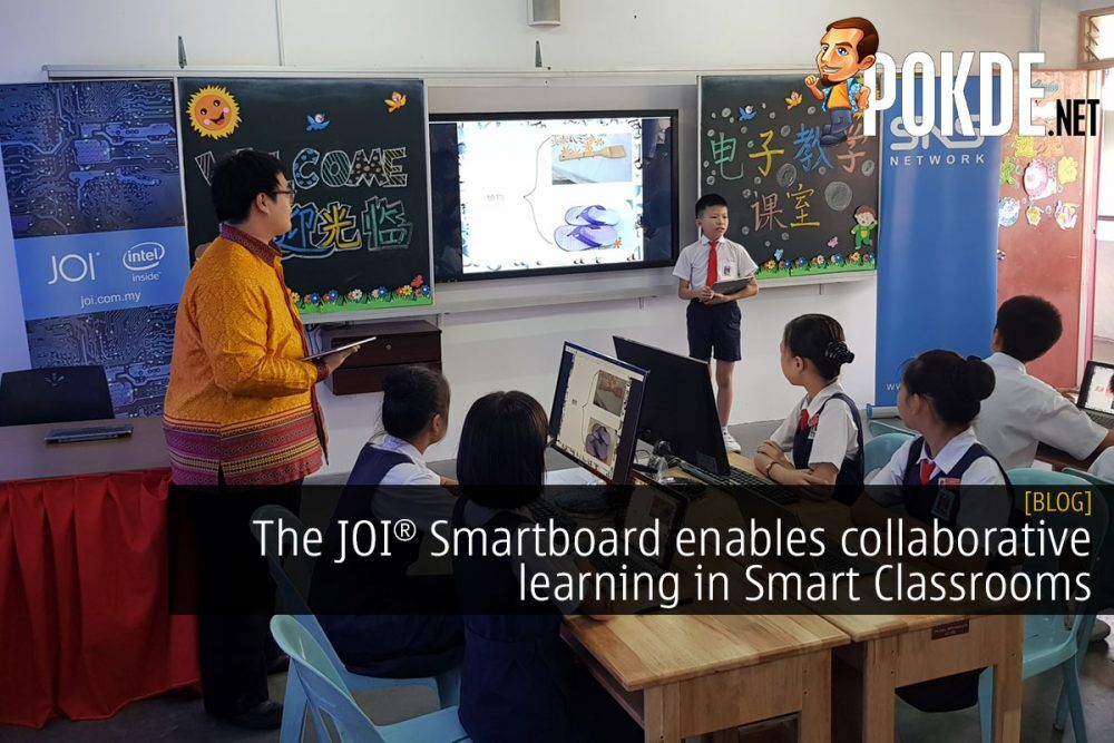 The JOI® Smartboard enables collaborative learning in Smart Classrooms 15