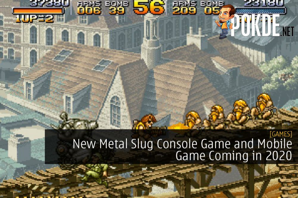 New Metal Slug Console Game and Mobile Game Coming in 2020