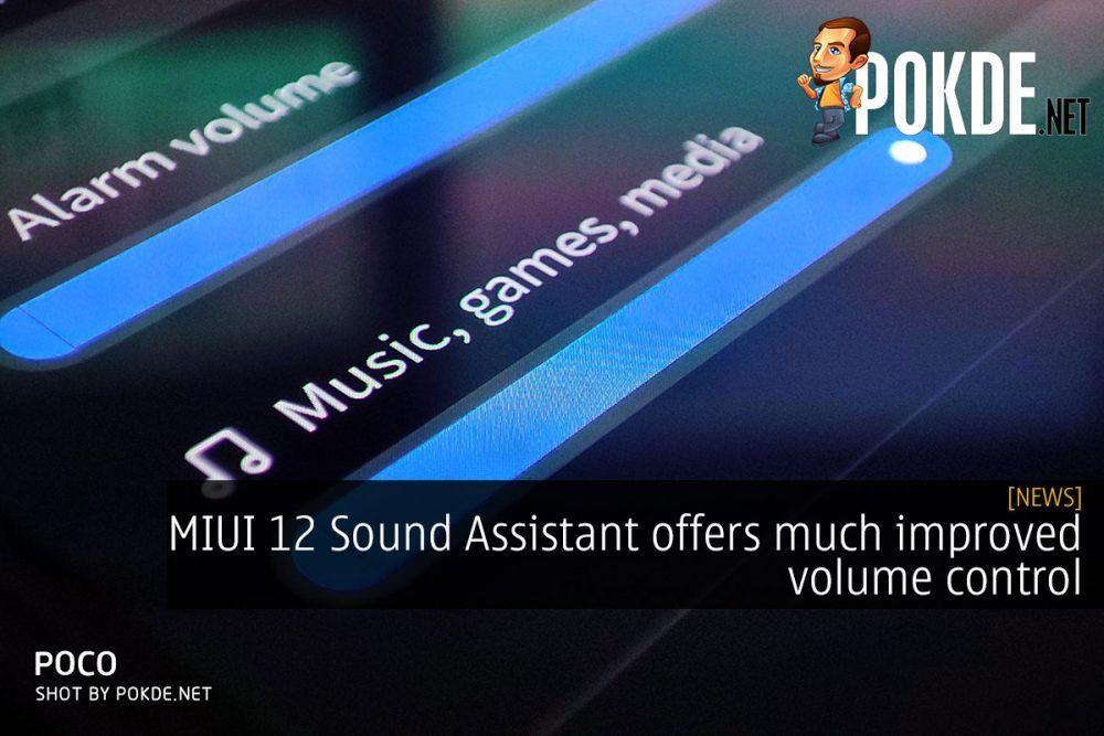 miui 12 sound assistant cover