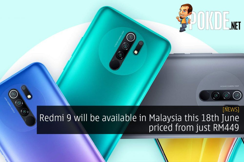 redmi 9 malaysia 18th june rm499 cover
