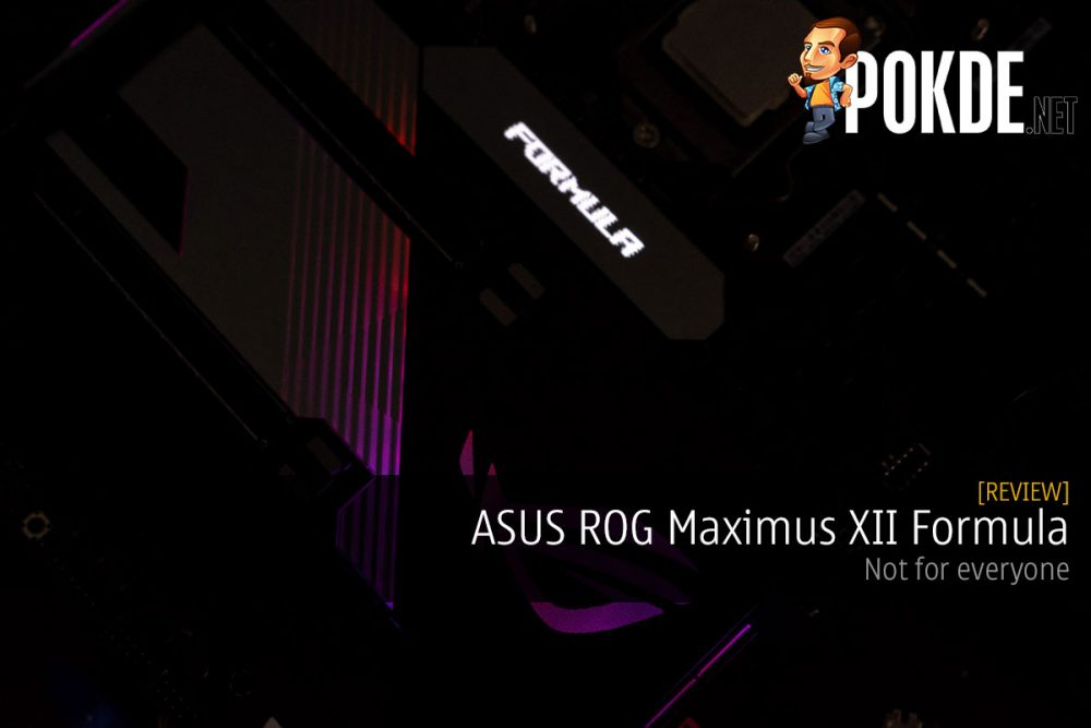 rog maximus xii formula review not for everyone cover