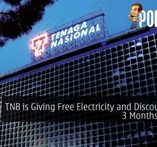 TNB is Giving Free Electricity and Discounts for 3 Months Worth