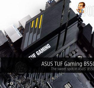 ASUS TUF Gaming B550M Plus Review — the sweet spot in ASUS' B550 offerings? 31