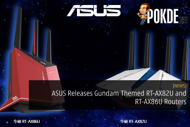 ASUS Releases Gundam Themed RT-AX82U and RT-AX86U Routers 20