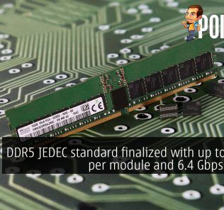DDR5 JEDEC standard finalized with up to 128GB per module and 6.4 Gbps speeds 25