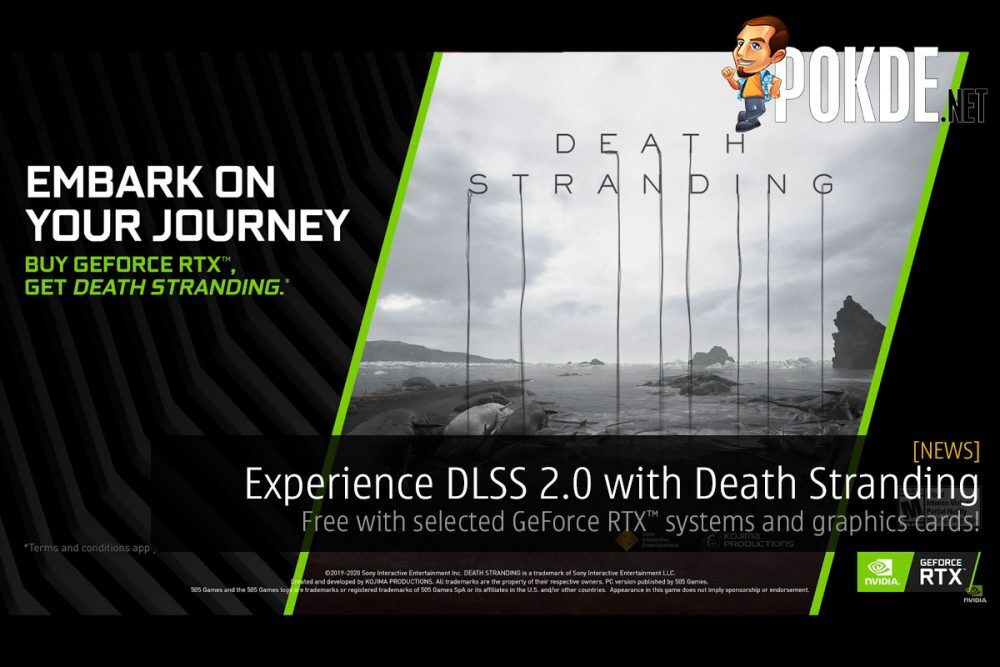 Experience DLSS 2.0 with Death Stranding, free with selected GeForce RTX systems and graphics cards! 22