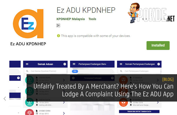 Unfairly Treated By A Merchant? Here's How You Can Lodge A Complaint Using The Ez ADU App 18