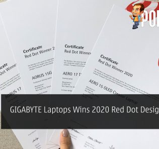 GIGABYTE Laptops Wins 2020 Red Dot Design Award 19